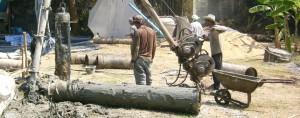 งานรับเหมาทำเสาเข็มเจาะในอุบล